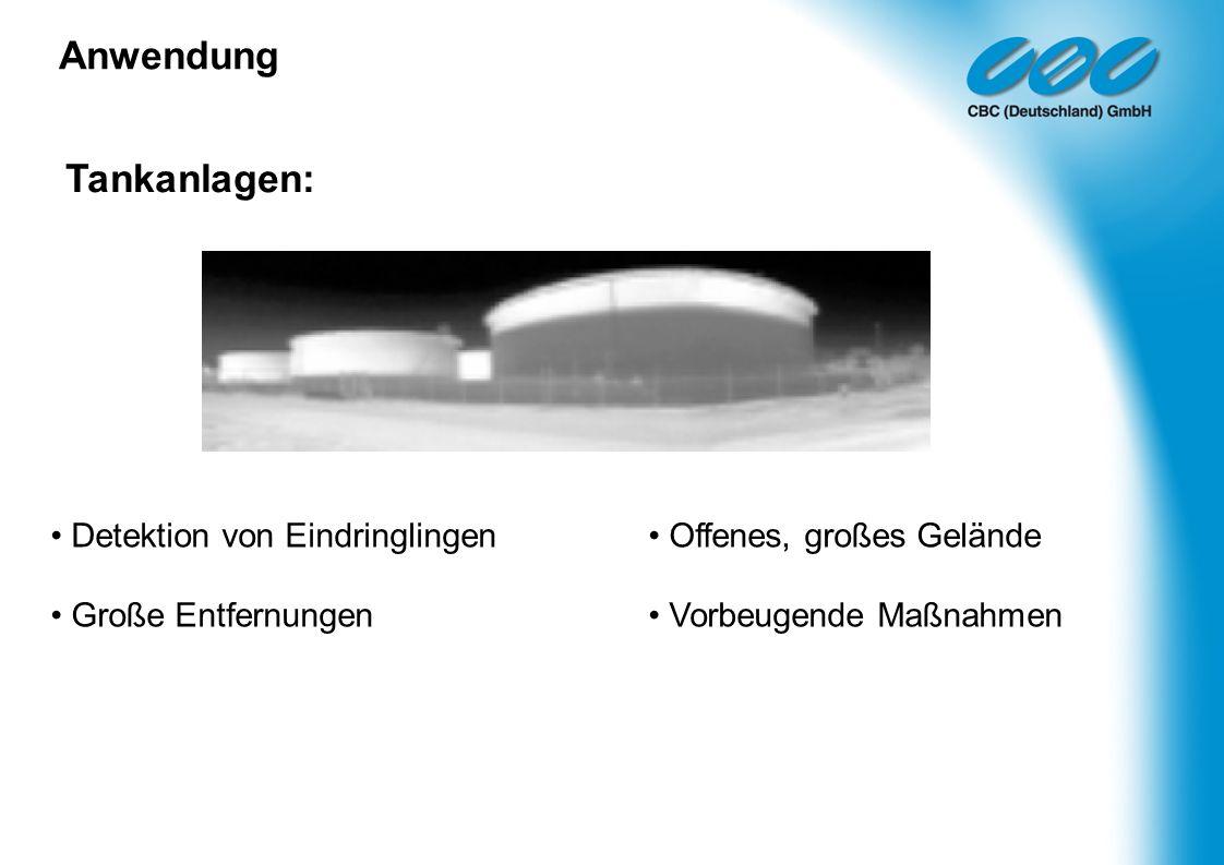 Anwendung Tankanlagen: