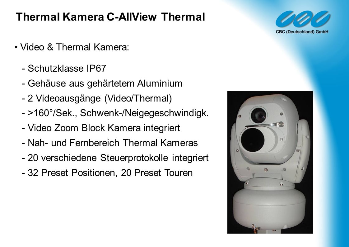 Thermal Kamera C-AllView Thermal