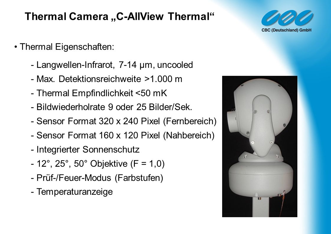 "Thermal Camera ""C-AllView Thermal"