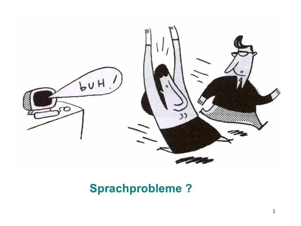 Sprachprobleme