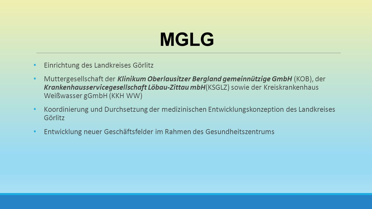 MGLG Einrichtung des Landkreises Görlitz