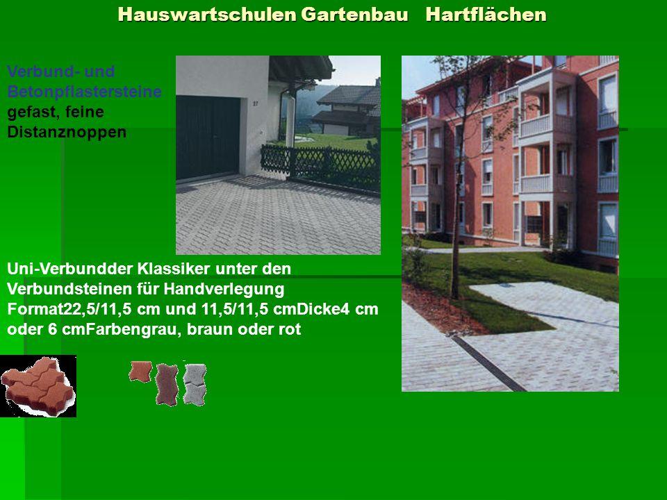 Hauswartschulen Gartenbau Hartflächen