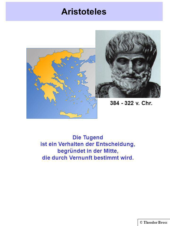 Aristoteles 384 - 322 v. Chr.