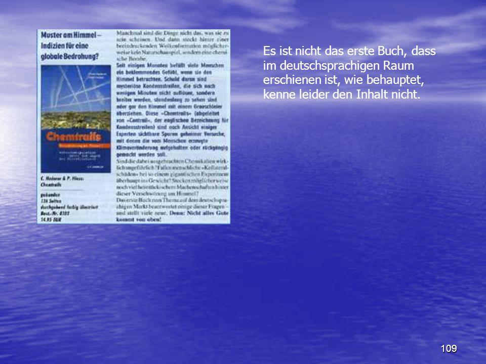 Es ist nicht das erste Buch, dass im deutschsprachigen Raum erschienen ist, wie behauptet, kenne leider den Inhalt nicht.