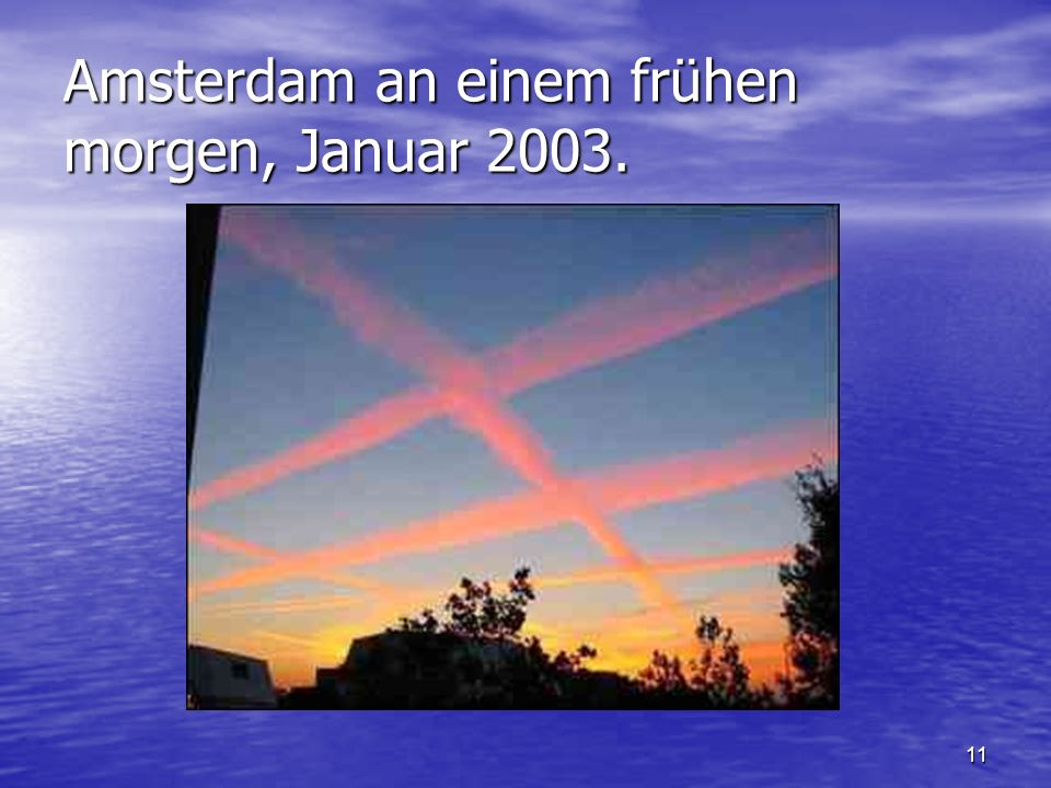 Amsterdam an einem frühen morgen, Januar 2003.