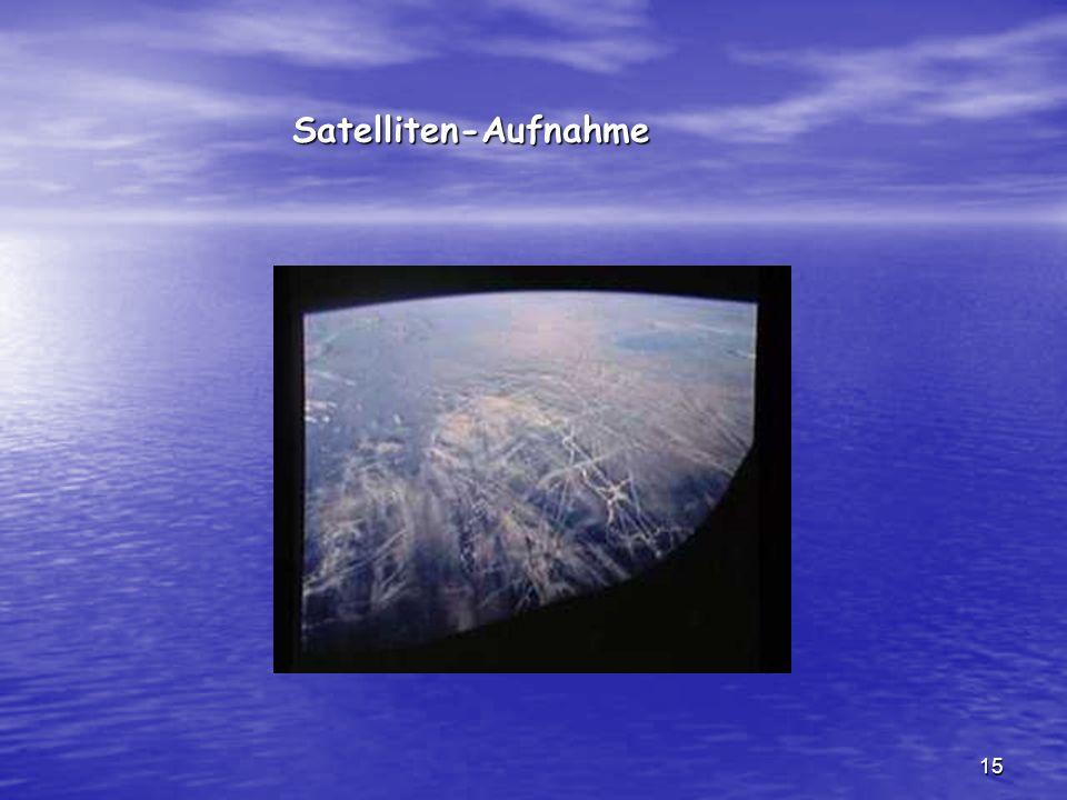 Satelliten-Aufnahme