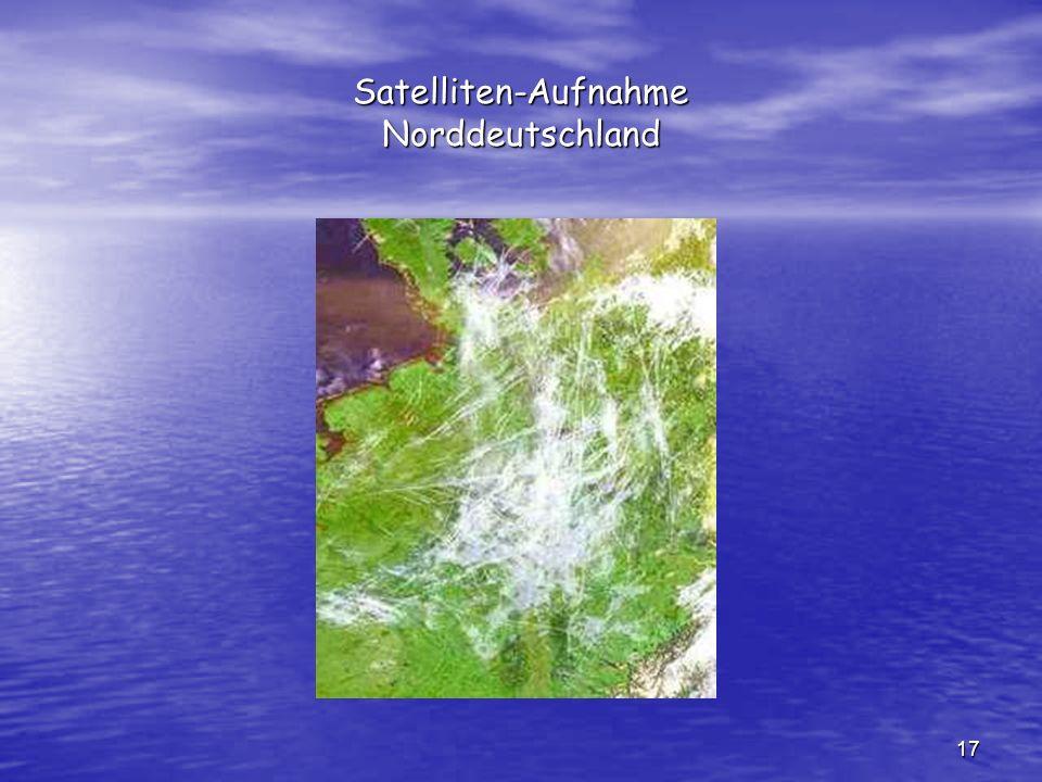 Satelliten-Aufnahme Norddeutschland