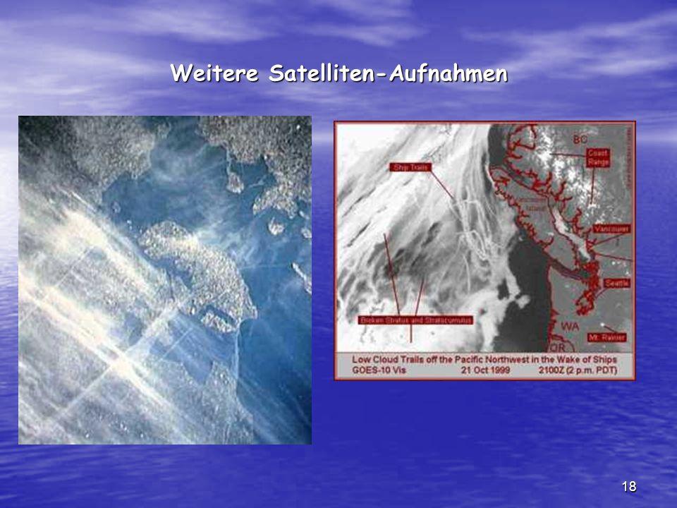Weitere Satelliten-Aufnahmen