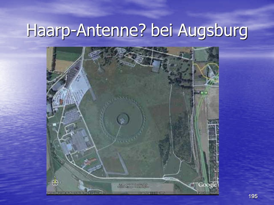 Haarp-Antenne bei Augsburg