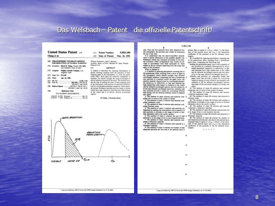 Das Welsbach – Patent die offizielle Patentschrift!