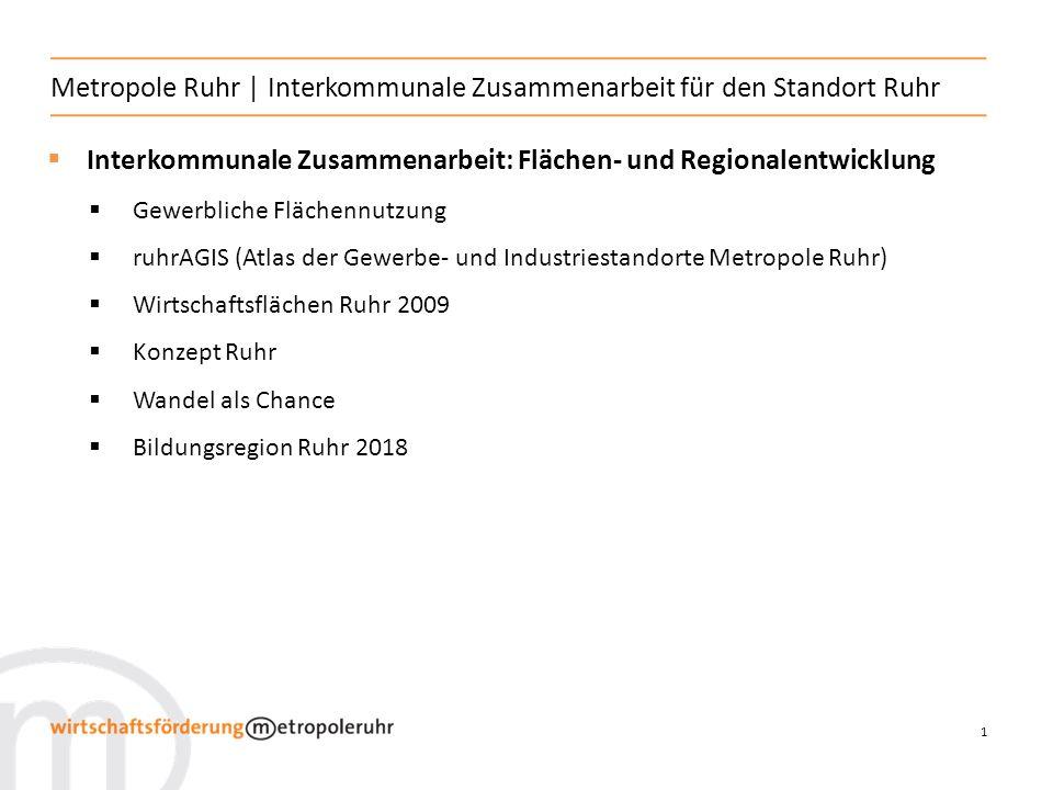 Metropole Ruhr | Interkommunale Zusammenarbeit für den Standort Ruhr