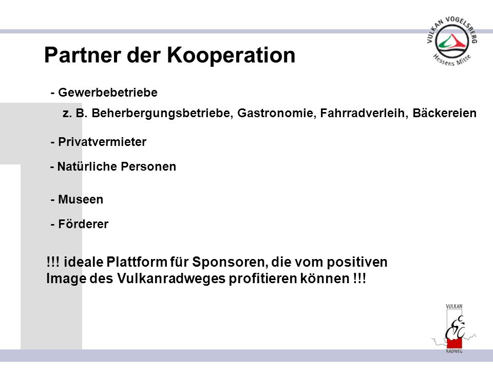 Partner der Kooperation