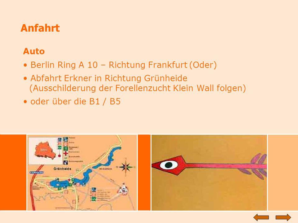 Anfahrt Auto Berlin Ring A 10 – Richtung Frankfurt (Oder)
