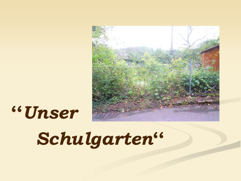 ''Unser Schulgarten''
