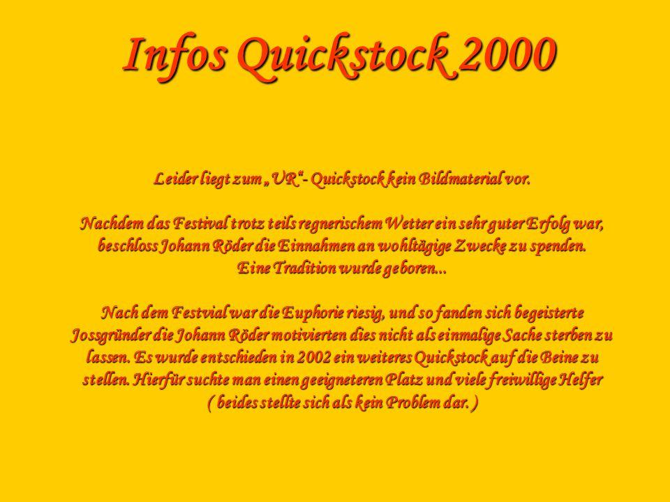 Infos Quickstock 2000