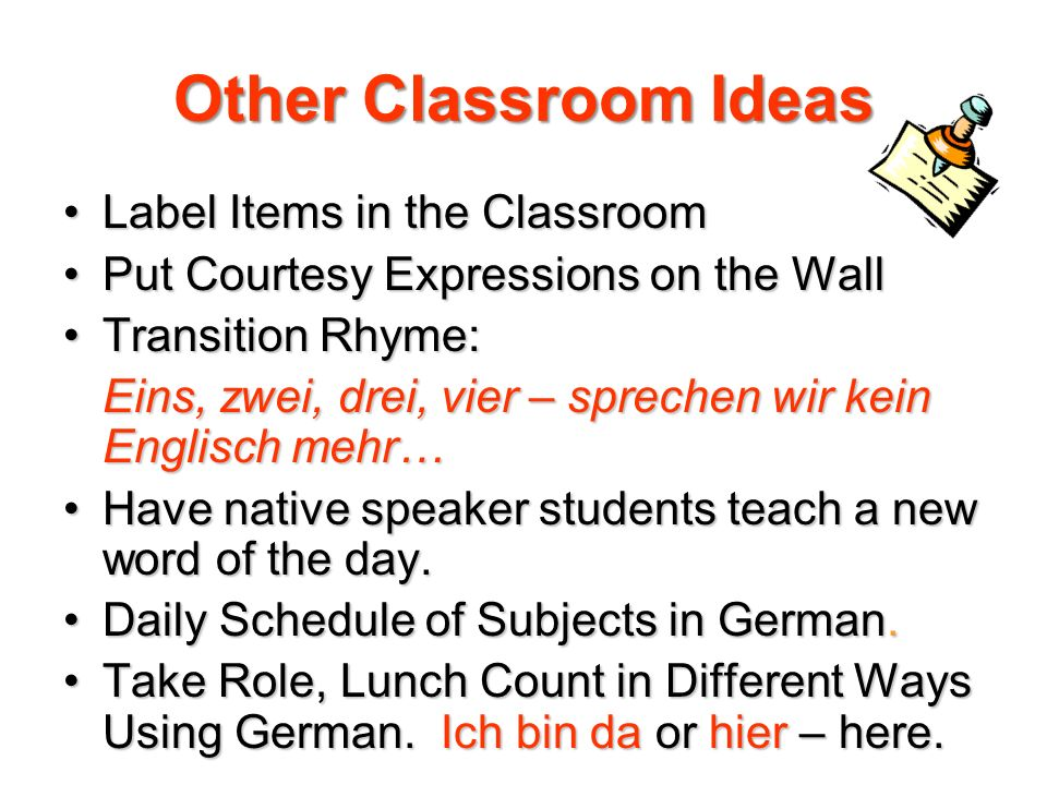 Other Classroom Ideas Label Items in the Classroom