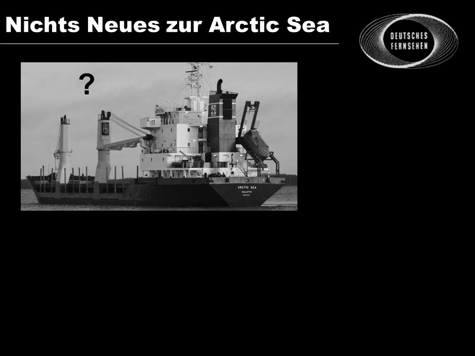 Nichts Neues zur Arctic Sea