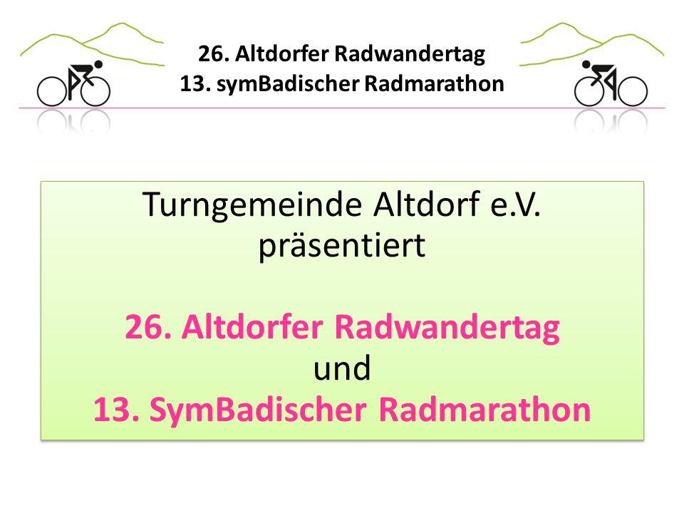 Turngemeinde Altdorf e. V. präsentiert 26
