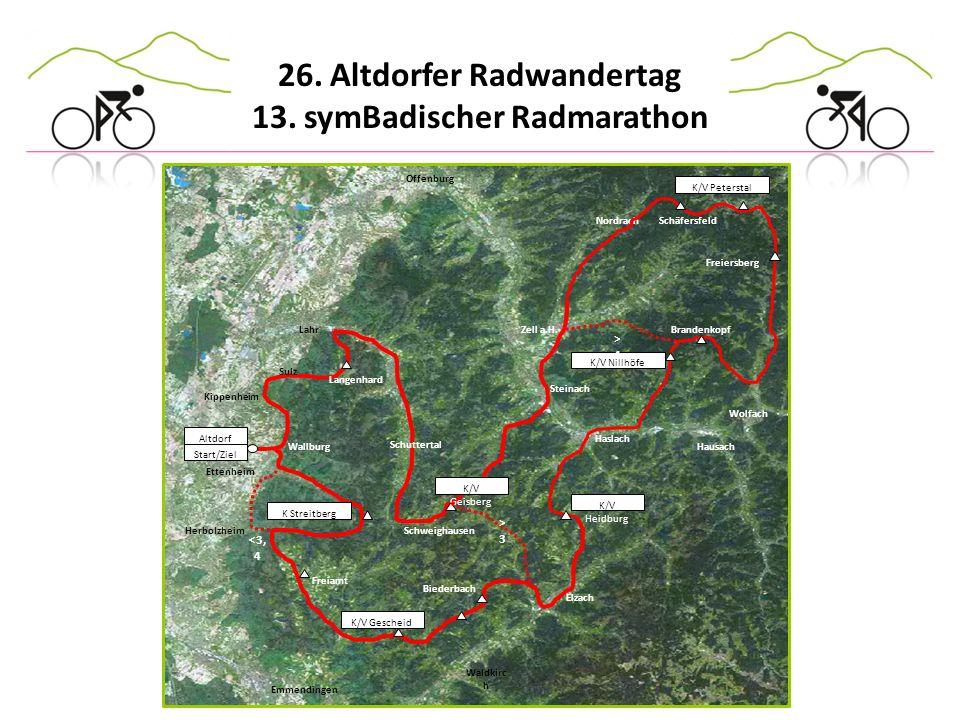 >4 >3 <3,4 Offenburg K/V Peterstal Nordrach Altdorf
