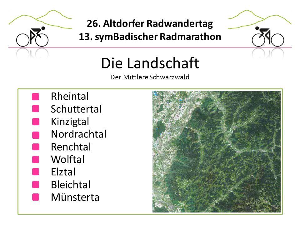 Die Landschaft Der Mittlere Schwarzwald