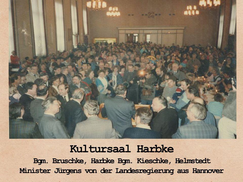 Kultursaal Harbke Bgm. Bruschke, Harbke Bgm. Kieschke, Helmstedt