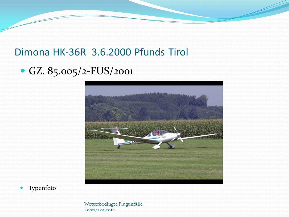 Dimona HK-36R 3.6.2000 Pfunds Tirol