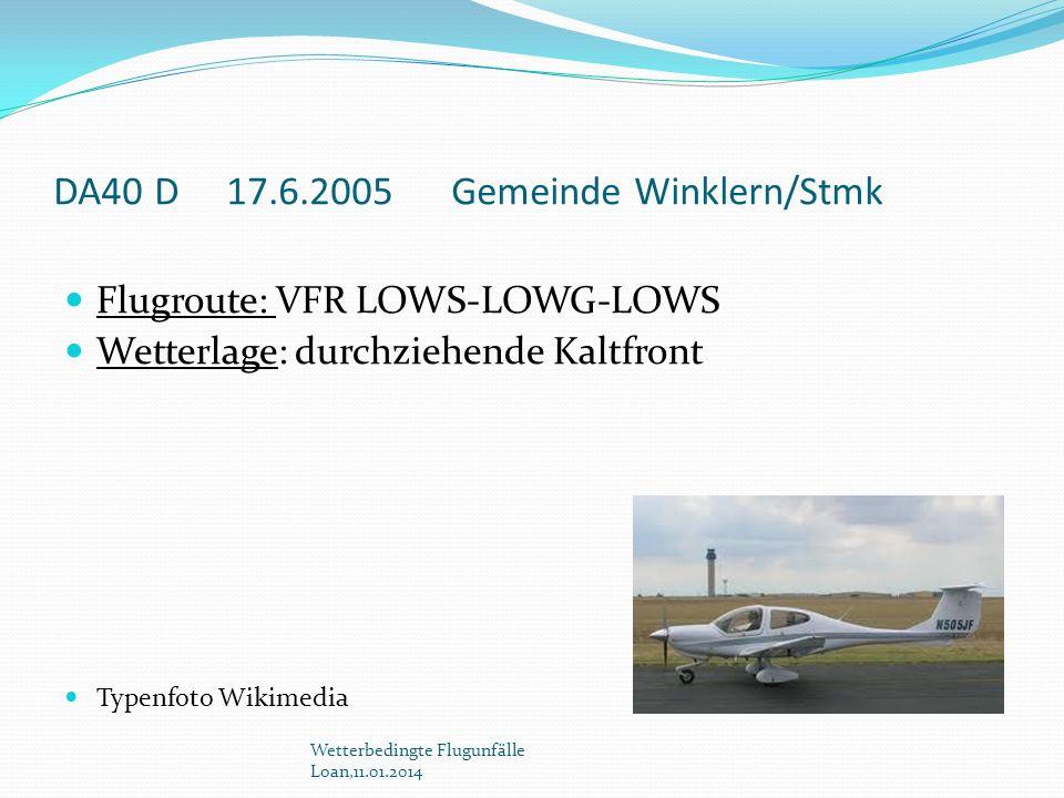 DA40 D 17.6.2005 Gemeinde Winklern/Stmk