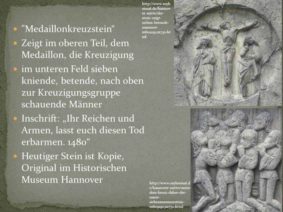 Medaillonkreuzstein