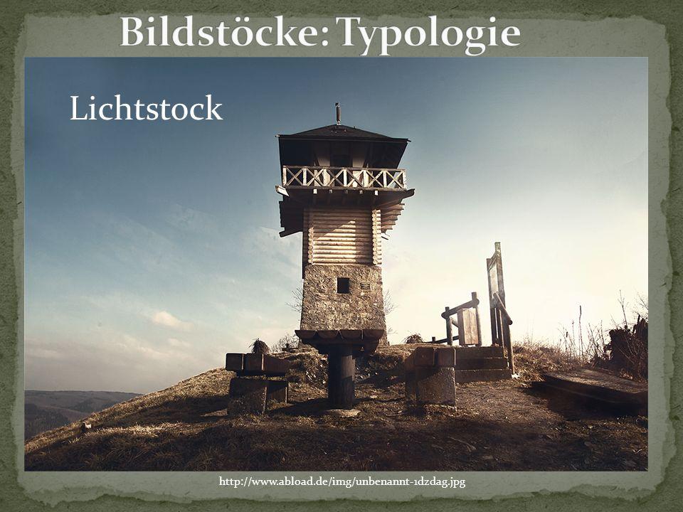 Bildstöcke: Typologie