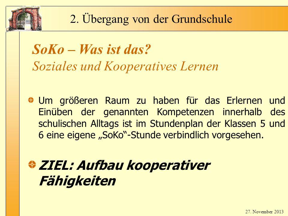 SoKo – Was ist das Soziales und Kooperatives Lernen