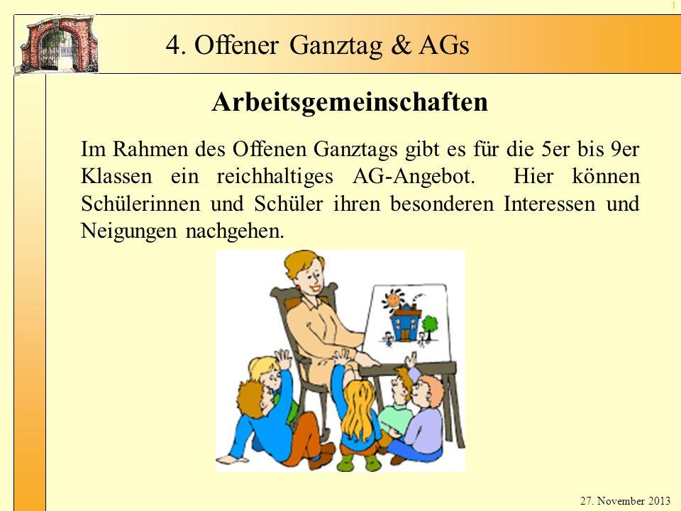 Arbeitsgemeinschaften