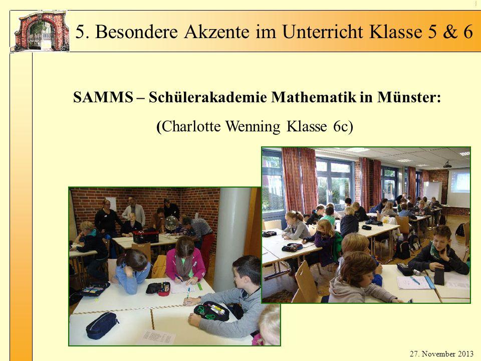(Charlotte Wenning Klasse 6c)