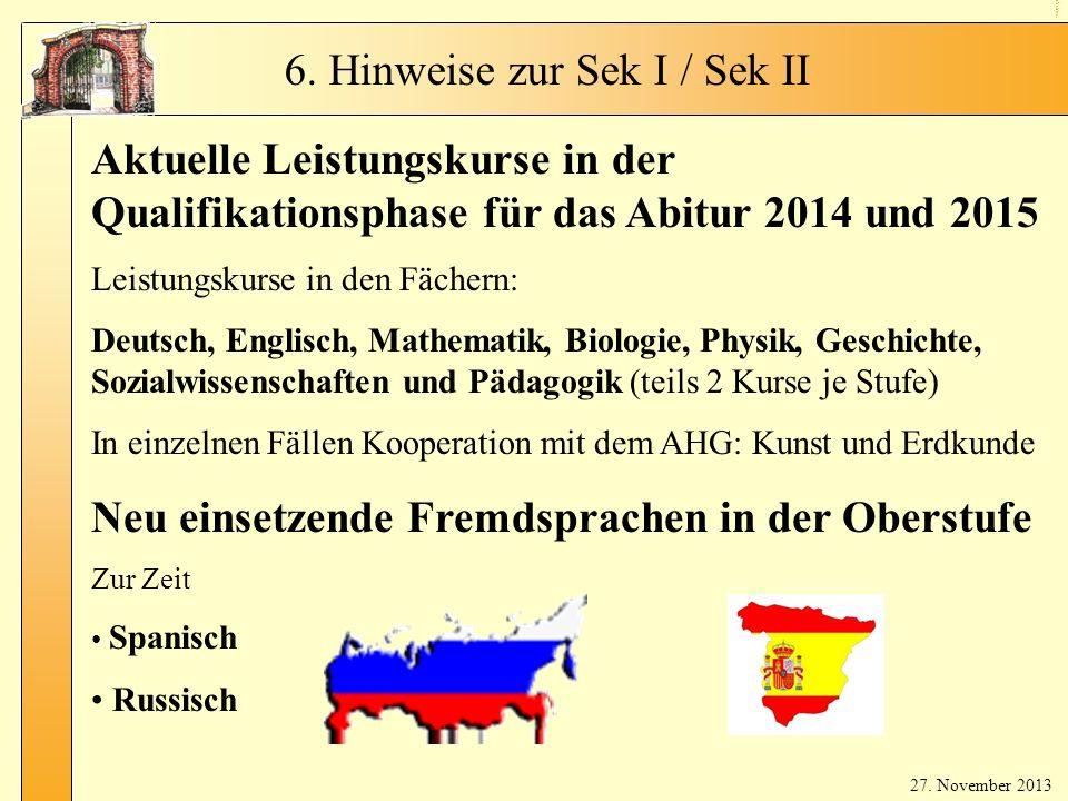 LKs & neue Fremdsprachen
