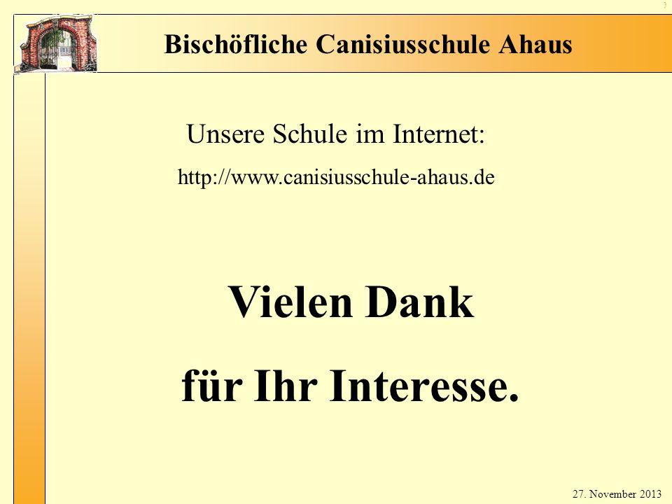 Unsere Schule im Internet: