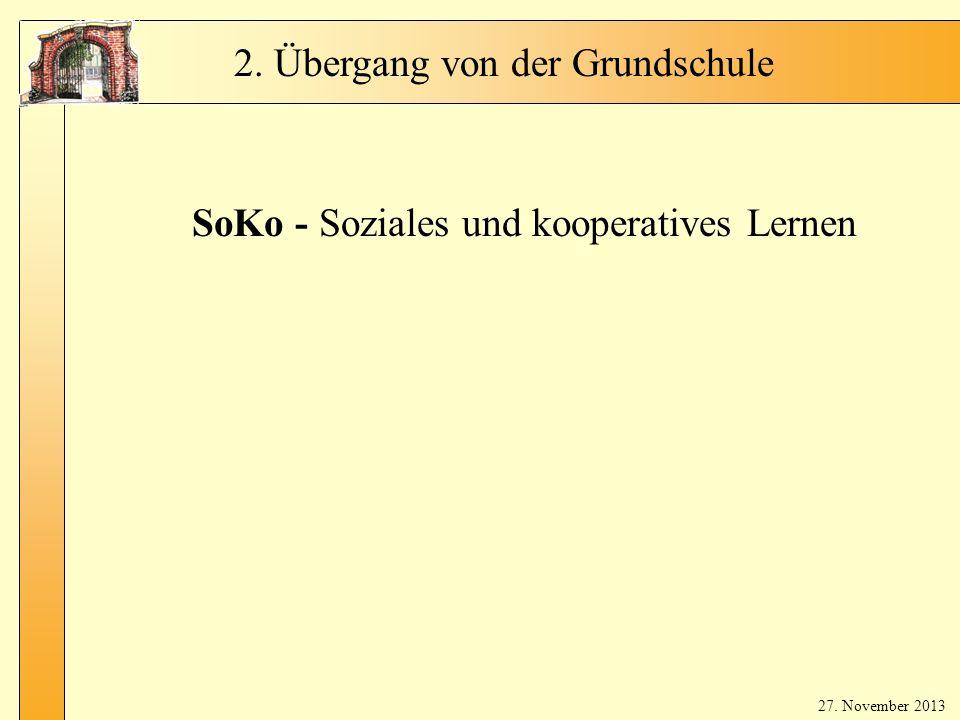 SoKo - Soziales und kooperatives Lernen