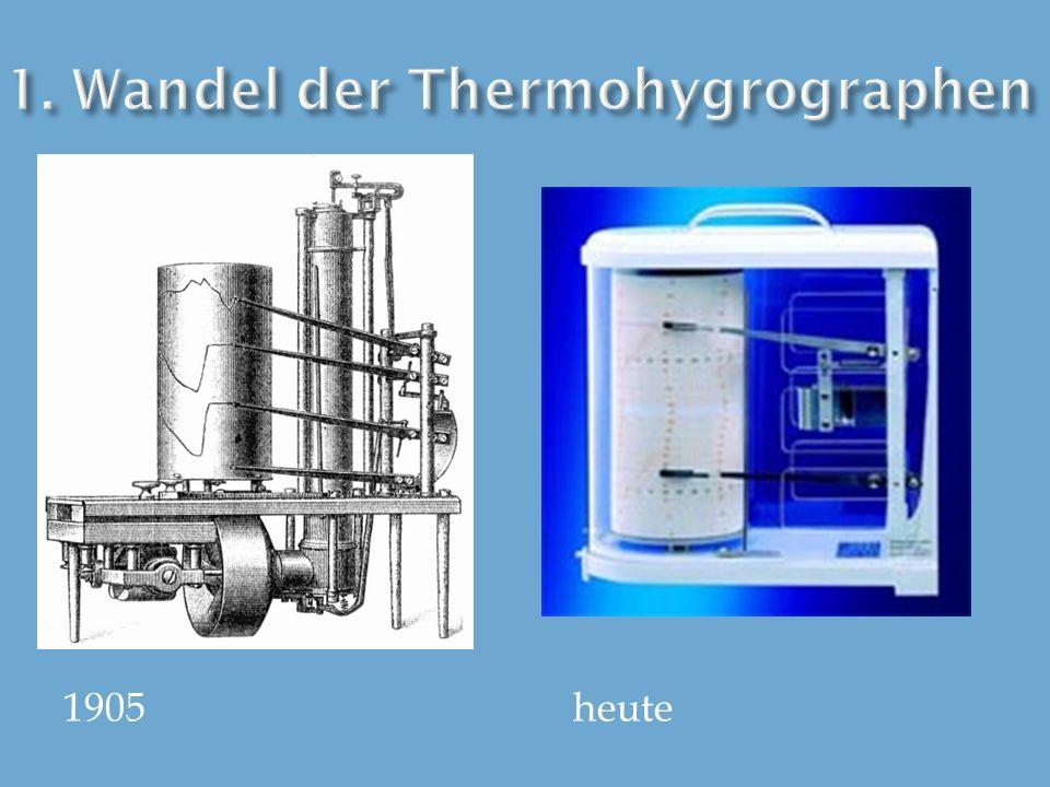 1. Wandel der Thermohygrographen
