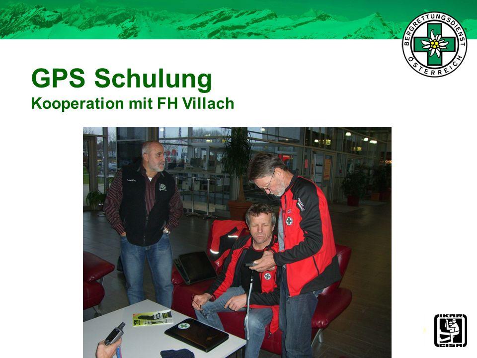 GPS Schulung Kooperation mit FH Villach 25