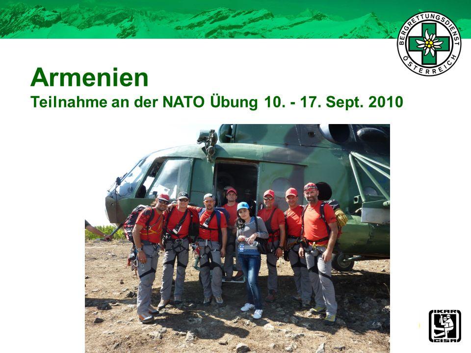 Armenien Teilnahme an der NATO Übung 10. - 17. Sept. 2010 28