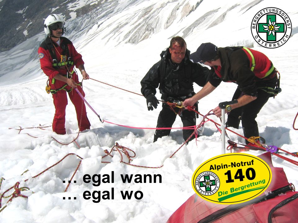 … egal wann … egal wo www.bergrettung.at/kaernten