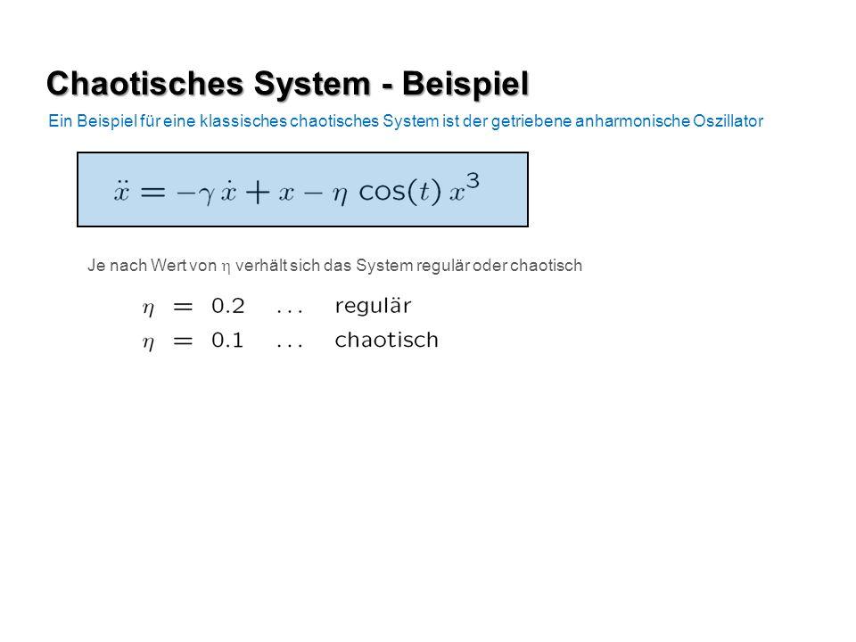 Chaotisches System - Beispiel