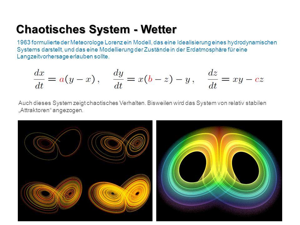 Chaotisches System - Wetter