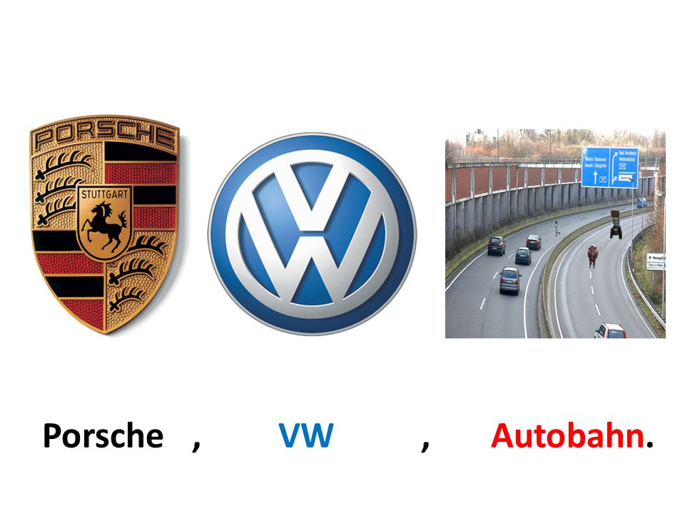 Porsche , VW , Autobahn.