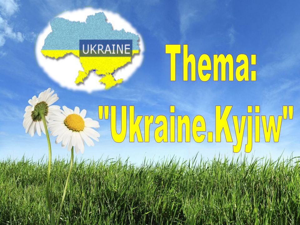 Thema: Ukraine.Kyjiw
