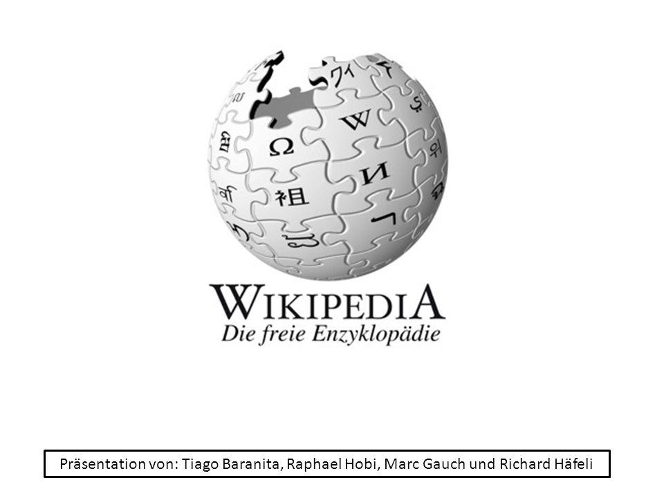 Präsentation von: Tiago Baranita, Raphael Hobi, Marc Gauch und Richard Häfeli