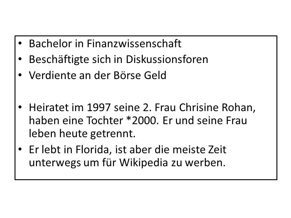 Bachelor in Finanzwissenschaft