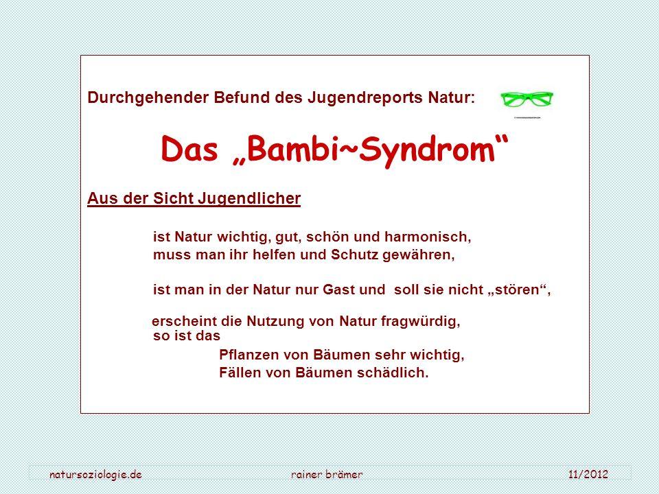 natursoziologie.de rainer brämer 11/2012