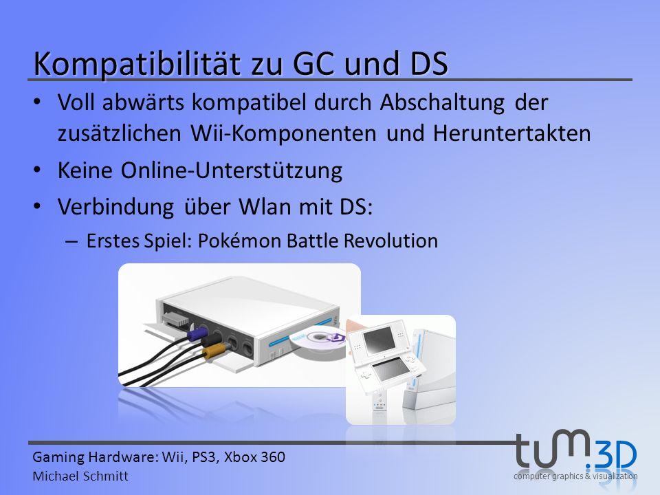 Kompatibilität zu GC und DS