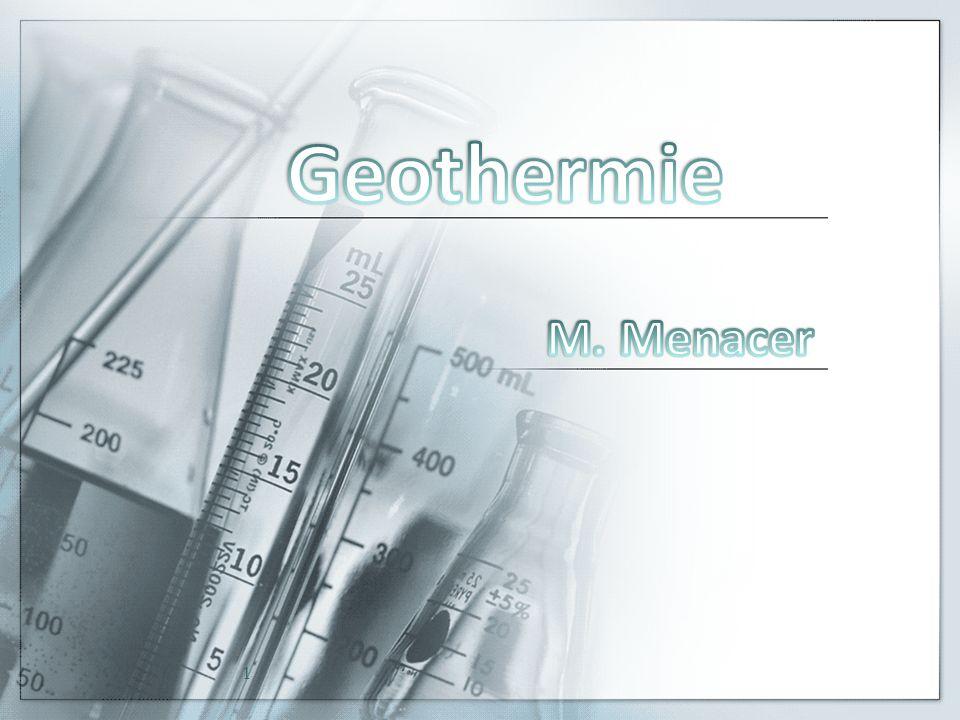 Geothermie M. Menacer