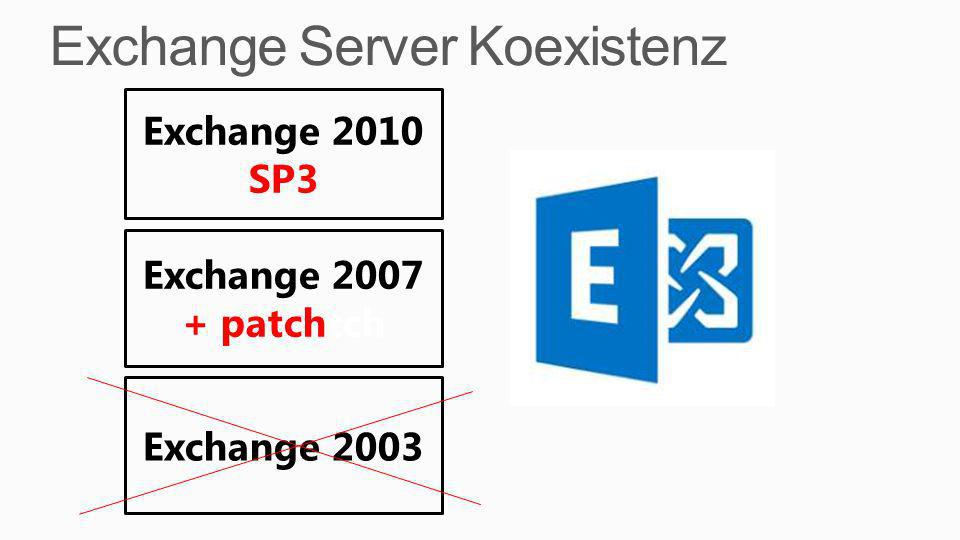Exchange Server Koexistenz