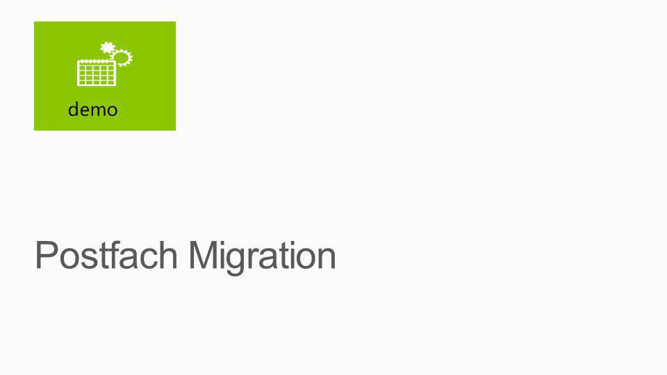 Postfach Migration